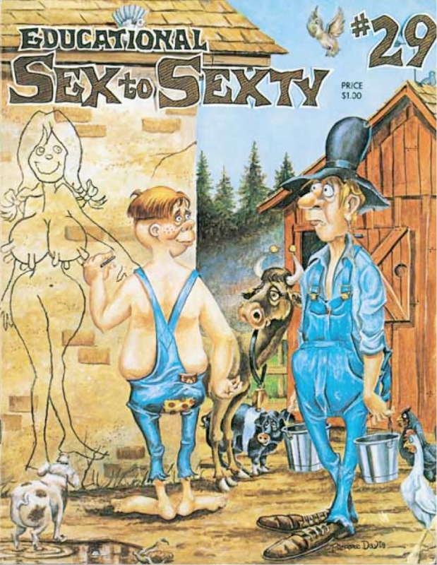 Sex to Sexty – Issue #29 – Education